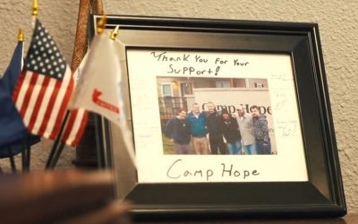 Texas Grand Ranch has committed to matching donations to Camp Hope, with a combined goal of raising $100,000